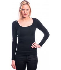 ten cate women longsleeves shirt (30200) black