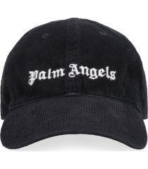 palm angels corduroy baseball cap