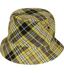 giant check reversible bucket hat
