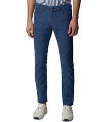 boss men's delaware open blue pants