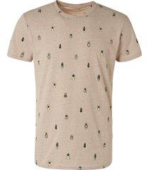 no excess t-shirt crewneck allover prin 11320314/043