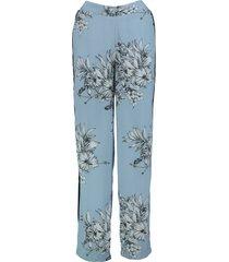 vero moda satina pants soepele loose fit broek