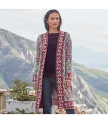 winding paths cardigan sweater