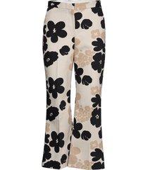 kausi kevättalkoot trousers broek met wijde pijpen multi/patroon marimekko