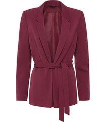 blazer con cintura (rosso) - bodyflirt