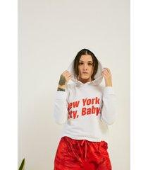 buzo blanco 47 street new york