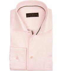 overhemd john miller modern fit roze