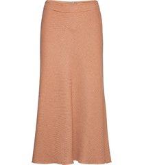 rodebjer gelvira lång kjol orange rodebjer