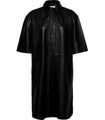 indie dress jurk knielengte zwart second female