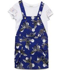 jackalyn jurk blauw kenzo