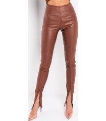 akira full of secrets vegan leather trouser