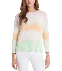 vince camuto cotton ombre stripe sweater