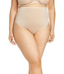 women's skims power mesh high waist thong