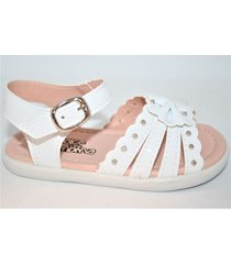 sandalia blanca dolce bambina