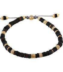 blue tiger eye gemstone zen bracelet