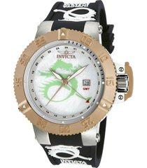 reloj invicta 1391c  silicona hombre