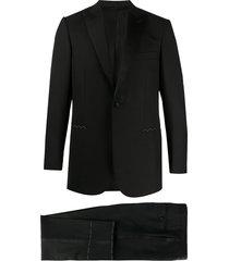 brioni two-piece formal suit - black