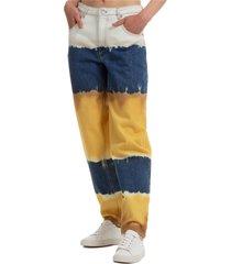 alberta ferretti wings jeans