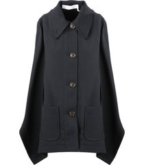 see by chloé twill cape