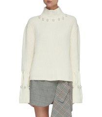 two way trompe loeuil sweater
