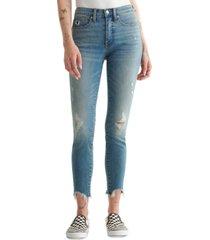 lucky brand bridgette ripped skinny jeans