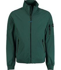 bos bright blue zomerjack softshell groen 20101sv02ios/364 jungle
