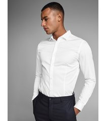 jack & jones overhemd jack & jones 12097662 parma white noos jack & jones wit
