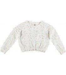 garcia korte warme dikke oversized sweater off white
