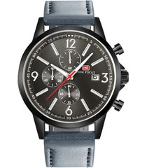 reloj análogo f0084g-1 hombre gris