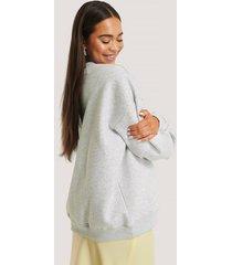 beyyoglu oversize sweatshirt - grey