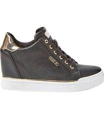 guess sneakers con zeppa flowurs