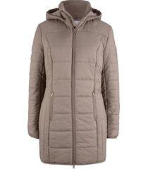 cappotto trapuntato lucido (marrone) - bpc bonprix collection