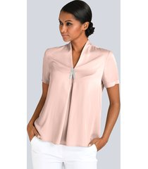 blouse alba moda roze