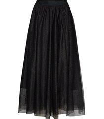 charlotteiw skirt knälång kjol svart inwear