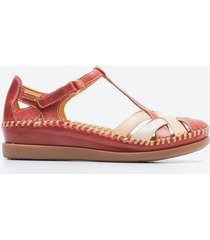 zapato casual mujer pikolinos z05z rojo