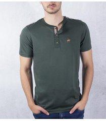 camiseta verde militar ref. 107011020