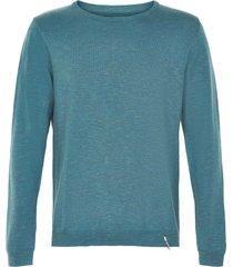 anerkjendt andrea pullover blauw 9219208/3035 - anerkjendt trui blauw 58% linnen / 42% katoen - anerkjendt trui blauw 58% linnen / 42% katoen - - - -