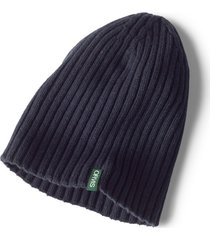 merino wool rib knit hat
