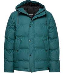 baffle jacket fodrad jacka grön tretorn