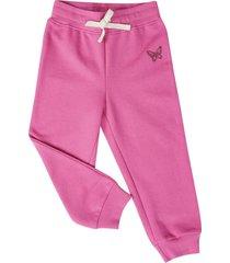 pantalon buzo basico shocking pink corona