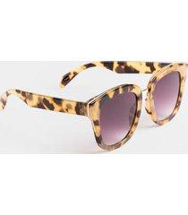 tatyana square milky tortoise sunglasses - tortoise