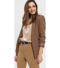 blazer marrón mochi jaspe