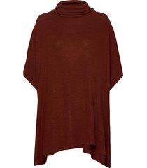 sc-biara poncho regnkläder röd soyaconcept