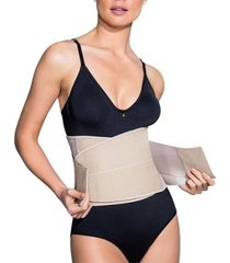kit 3 cintas modeladoras dilady faixa abdominal - unissex
