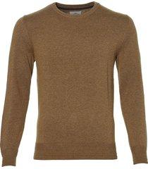 hensen pullover - slim fit - bruin