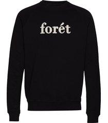 spruce sweatshirt sweat-shirt trui zwart forét