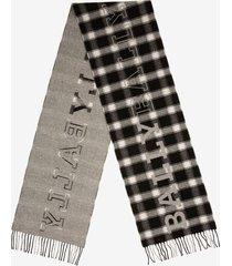 bally check scarf multicolor 1
