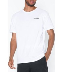 columbia north cascades short sleeve tee t-shirts & linnen white