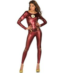 buyseasons women's justice league the flash female adult bodysuit
