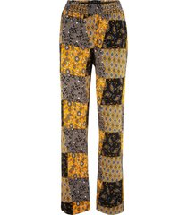 pantaloni di jersey in mix di fantasie (giallo) - bpc bonprix collection